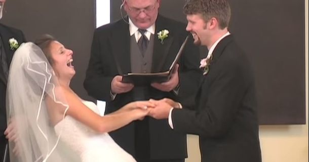 When This Groom Messed Up His Vows, No One Was Able To Keep A Straight Face